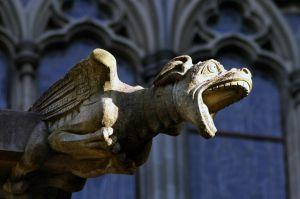 gargoyle-nidaros-sculpture