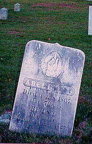 Abel Blood's grave