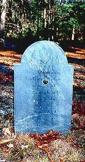 Walter Gilson's headstone.