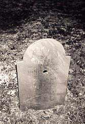 Walter Gilson's headstone