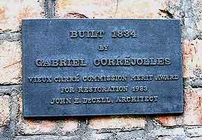 Correjolles plaque