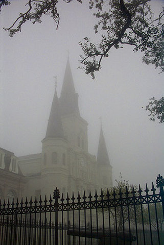 New Orleans' French Quarter cathedral