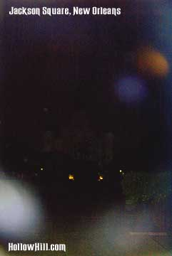 Jackson Square ghost orbs