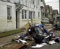 devastation after Katrina