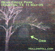Orb at Bear Creek Park, Houston, TX