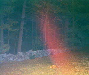 Gilson Road ghostly streak of light