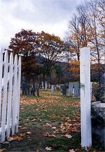 Andover cemetery gate