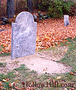 Sandy grave, Andover cemetery, NH