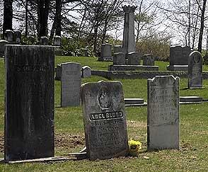 Blood cemetery, Hollis, NH