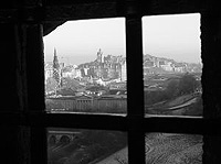 Edinburgh Castle window