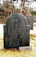 Ocean Born Mary's gravestone