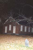 Schoolhouse Cemetery - no orb