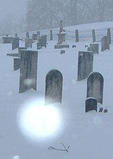Snow orb.