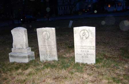 Bailey Cemetery - orbs