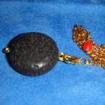 Lava Rock pendulum by Sean Paradis for Sleeping Meadows
