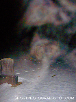 Eerie 'ghost' images in breath, Northfield, NH