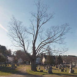 Old North Cemetery, described at HollowHill.com