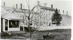 Original NH State Prison - 1860 photo