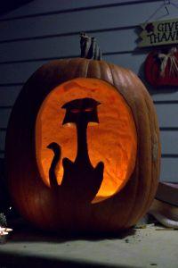 Halloween ghost hunting - jack o' lantern