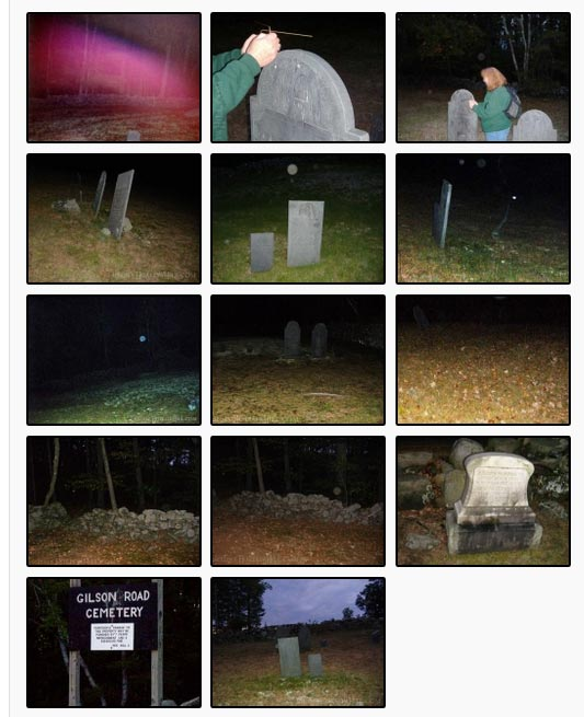 Gilson Rd Cemetery photos