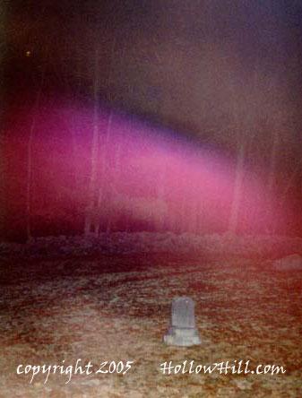gilson road cemetery purple streak of light