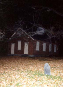 "Orb at ""schoolhouse cemetery"" in Nashua, NH"