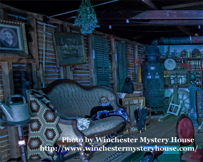 New room at Winchester Mystery House