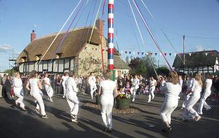 Offenham - May Pole dance