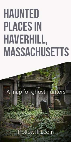 Haverhill ghost map - ley lines in MA