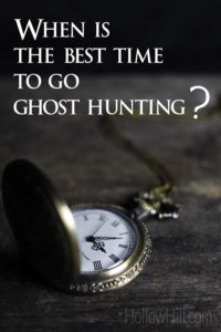 Ghost hunting with a pocket watch.
