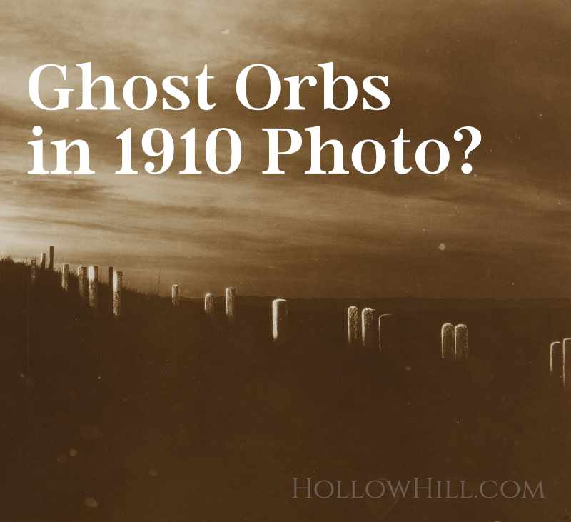 Ghost Orbs in a 1910 Photo – Paranormal Proof?
