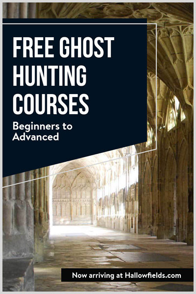 Free ghost hunting courses