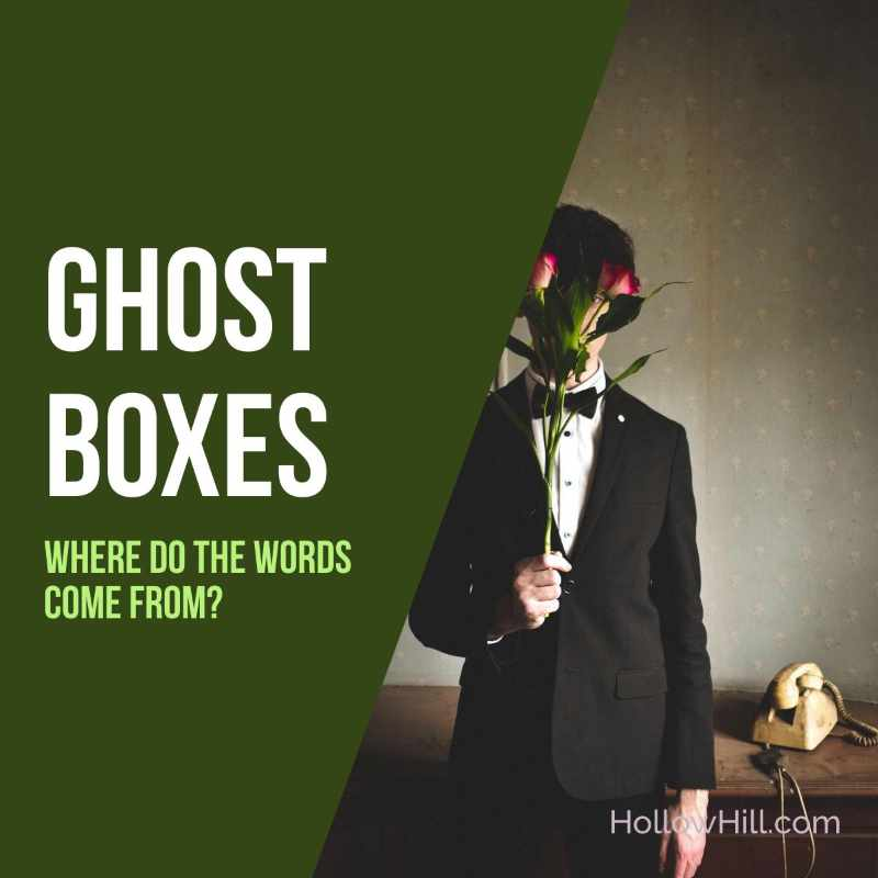 Ghost boxes - where do the words come from?