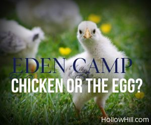 Eden Camp Ghosts - which came first, the chicken or the egg?