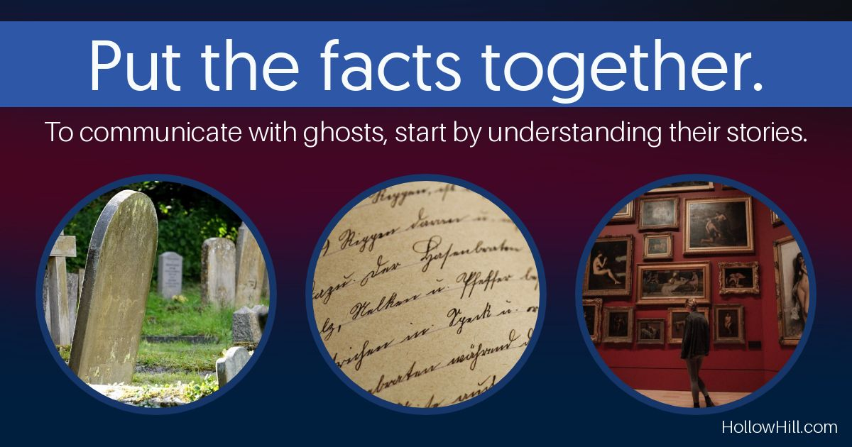 Understand your ghosts' histories