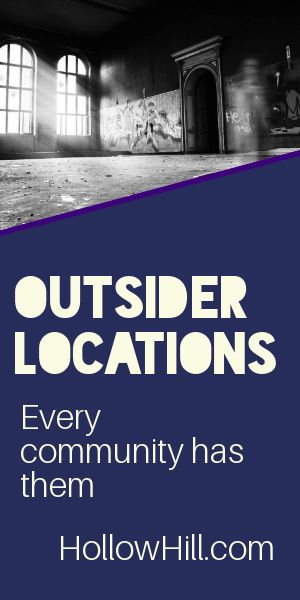 "Powerful ghosts can linger at ""outsider"" locations."