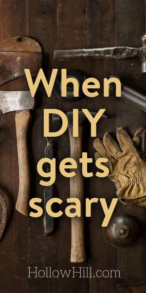 Ghosts - when DIY gets scary