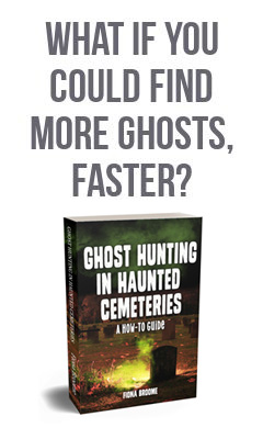 Book - Ghost Hunting in Haunted Cemeteries