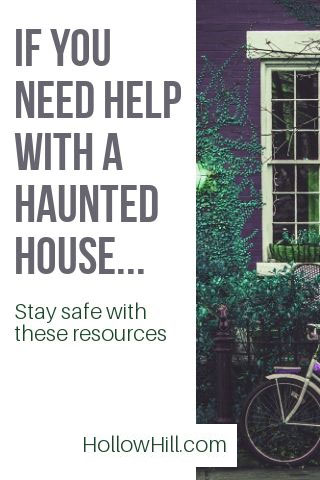Ghosts? What to do if you need help.